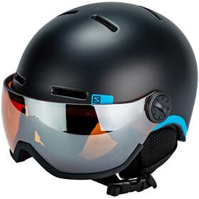 Salomon Grom Visor Helmet Children black